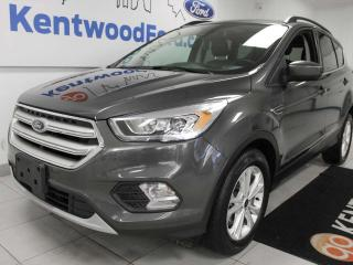 Used 2018 Ford Escape SEL 4WD ecoboost, NAV, sunroof, heated power leather seats, keyless entry for sale in Edmonton, AB