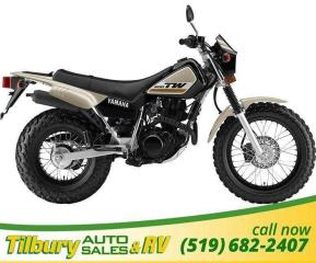 Used 2019 Yamaha TW200E Super reliable, 196cc, air-cooled, SOHC for sale in Tilbury, ON