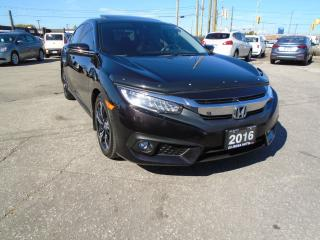 Used 2016 Honda Civic Touring NAVIGATION NO ACCIDENT 1 OWNER HONDA SENSE for sale in Oakville, ON