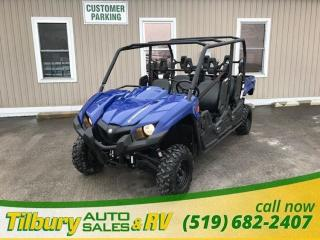 Used 2017 Yamaha Viking VI EPS DEMO. LOW KMS! for sale in Tilbury, ON