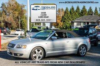Used 2003 Audi A4 1.8T Cabriolet, No Accidents, Automatic, Only 133k for sale in Surrey, BC