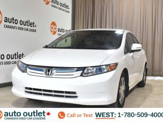 Used 2012 Honda Civic Hybrid 1.5L I4, Fwd, Navigation, Heated cloth seats for sale in Edmonton, AB