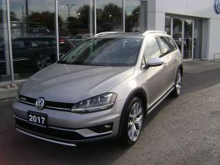 Used 2017 Volkswagen Golf Alltrack Golf Sportwagon Alltrack for sale in Cornwall, ON