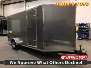 New 2019 Canadian Trailer Company 7x14 V Nose Cargo Trailer Steel for sale in Guelph, ON