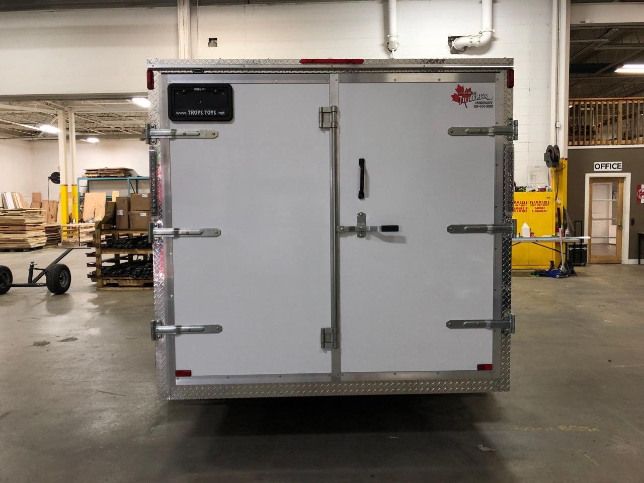 2019 Canadian Trailer Company 7x14 V Nose Cargo Trailer