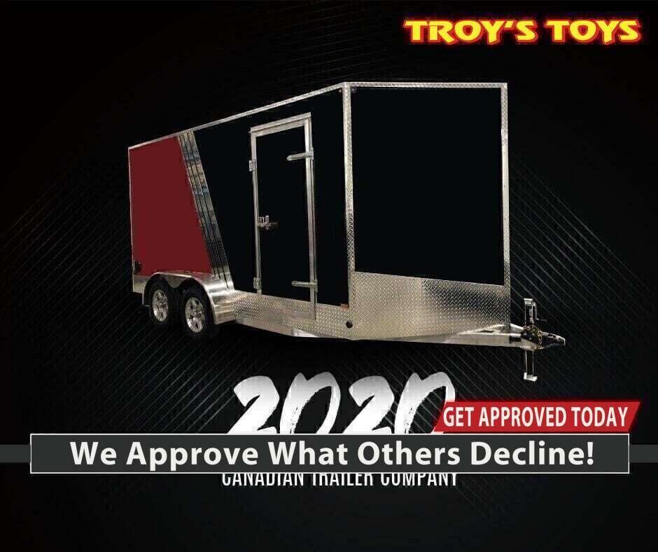 2020 Canadian Trailer Company 7x14 V-Nose Cargo Trailer