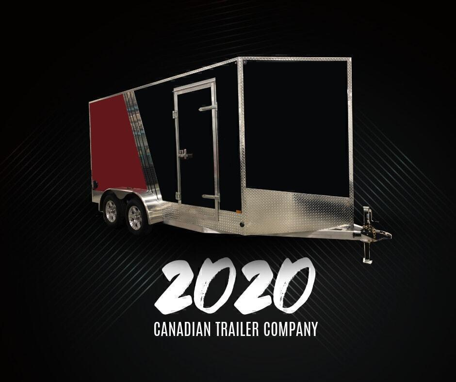 2020 Canadian Trailer Company 7x10 V-Nose Cargo Trailer