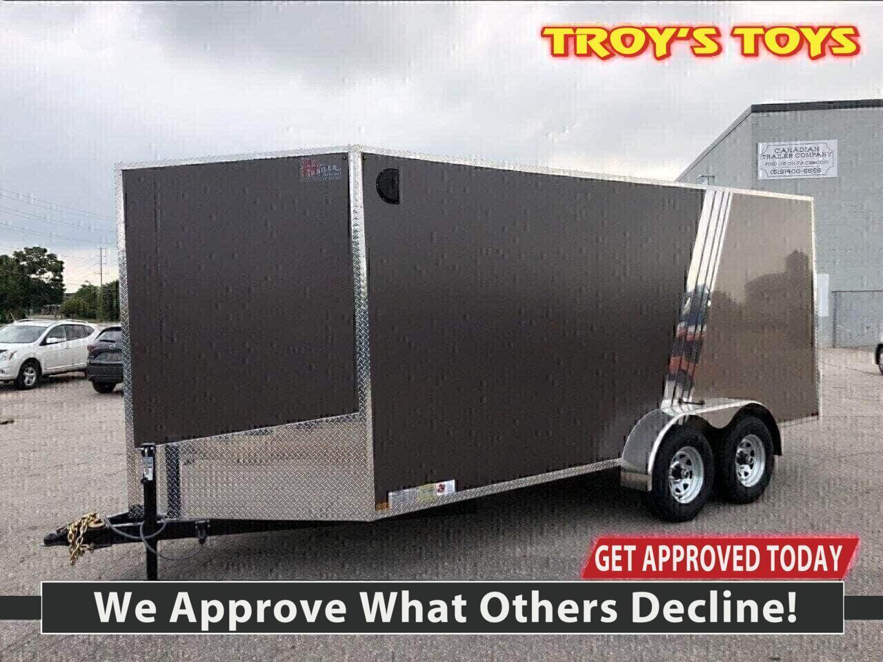 2020 Canadian Trailer Company 7x16 V-Nose Cargo Trailer