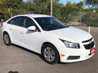 Used 2014 Chevrolet Cruze LT ** AUTOSTART , CRUISE, BLUETOOTH  ** for sale in St Catharines, ON