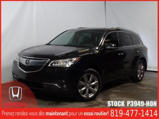 Used 2016 Acura MDX Elite Pack+GPS+DVD+SIÈGECHAUFF/CLIMATISÉ+++ for sale in Drummondville, QC