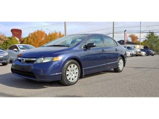 Used 2007 Honda Civic DX-G *A/C*GR ÉLEC* for sale in St-Jérôme, QC