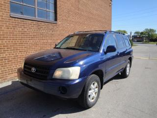 Used 2003 Toyota Highlander V6 4WD/LEATHER for sale in Oakville, ON