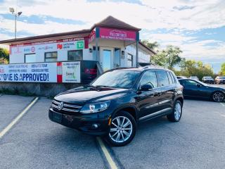 Used 2014 Volkswagen Tiguan Highline|NAVI|PANO|LEATHER||ALLOYS|CERTIFIED! for sale in Guelph, ON