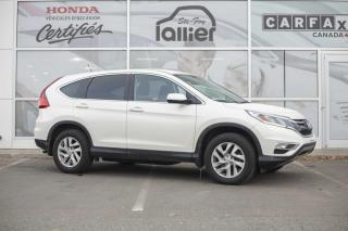 Used 2016 Honda CR-V SE AWD ***GARANTIE GLOBALE JUSQU EN AOUT for sale in Québec, QC