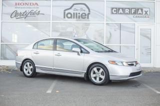 Used 2008 Honda Civic LX ***Jamais accidenté*** for sale in Québec, QC