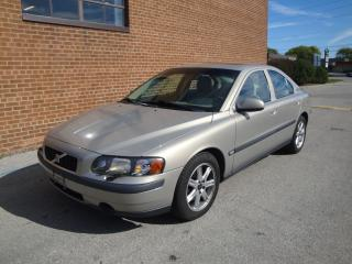 Used 2001 Volvo S60 LEATHER /SUNROOF/ for sale in Oakville, ON