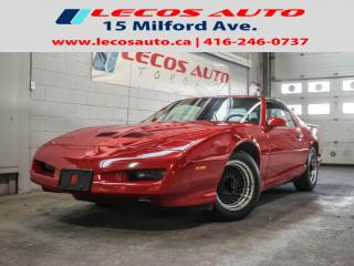 Used 1991 Pontiac Firebird Trans Am GTA for sale in North York, ON
