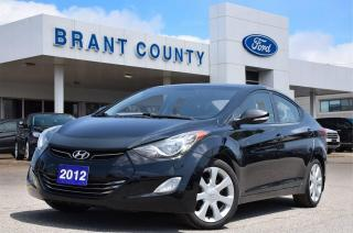Used 2012 Hyundai Elantra Limited for sale in Brantford, ON
