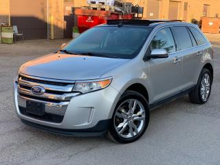 Used 2012 Ford Edge for sale in Brampton, ON