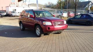 Used 2004 Toyota Highlander 4X4 - 3.3 liter - One Owner for sale in Edmonton, AB