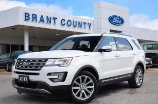 Used 2017 Ford Explorer LIMITED for sale in Brantford, ON