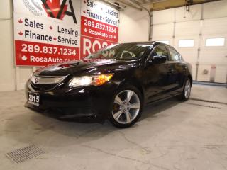 Used 2015 Acura ILX AUTO SUNROOF LOW KM NO ACCIDENT B-TOOTH B-CAMERA for sale in Oakville, ON