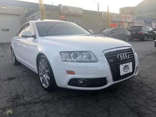 Used 2011 Audi A6 3.0L_NAVI_REAR CAM_LEATHER_SUNROOF for sale in Oakville, ON