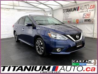 Used 2016 Nissan Sentra SR+GPS+Camera+Blind Spot+Sunroof+Leather+ for sale in London, ON