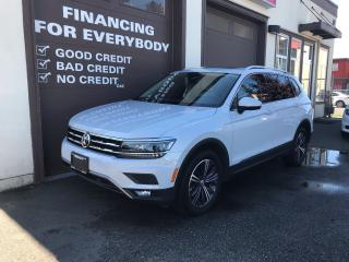 Used 2018 Volkswagen Tiguan Highline for sale in Abbotsford, BC
