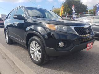 Used 2011 Kia Sorento EX-LEATHER-AWD-1 YEAR WARRANTY-BLUETOOTH-ALLOYS for sale in Scarborough, ON
