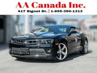 Used 2014 Chevrolet Camaro 2LT |LEATHER|HEADSUPDISPLAY| for sale in Toronto, ON