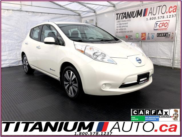 2017 Nissan Leaf SV+Electric Drive+GPS+Camera+Heated Seats+XM Radio