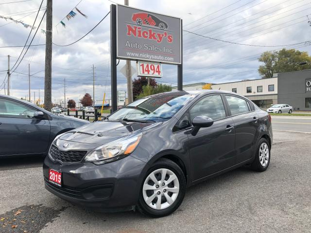 2015 Kia Rio LX+ ECO - HEATED SEATS - ONLY 14,000KM!