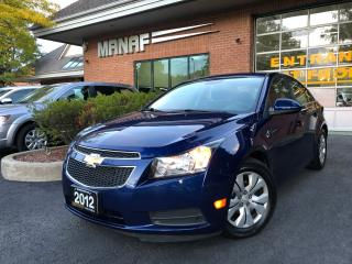 Used 2012 Chevrolet Cruze LT Turbo Cruise control Remote Starter Low Km Cert for sale in Concord, ON