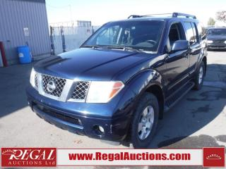 Used 2007 Nissan PATHFINDER SE 4D UTILITY 4WD 4.0L for sale in Calgary, AB