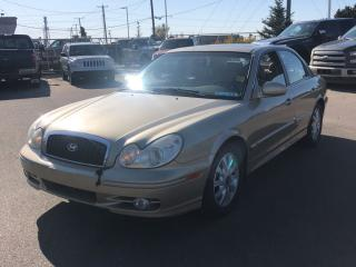 Used 2004 Hyundai Sonata GL LOW MILEAGE LOADED for sale in Edmonton, AB