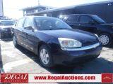 Photo of Blue 2004 Chevrolet Malibu