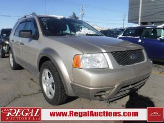 Used 2005 Ford FREESTYLE SE 4D UTILITY 2WD for sale in Calgary, AB