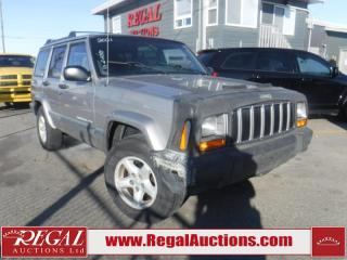 Used 2001 Jeep CHEROKEE  4D UTILITY 4WD for sale in Calgary, AB