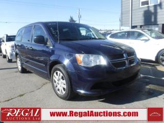 Used 2014 Dodge Grand Caravan 4D Wagon 3.6L for sale in Calgary, AB