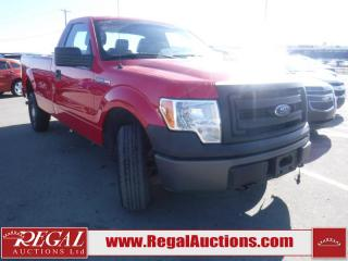 Used 2013 Ford F150 XL 2D REG CAB LWB 4WD for sale in Calgary, AB
