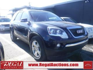 Used 2008 GMC Acadia SLT 4D Utility AWD for sale in Calgary, AB