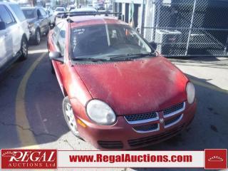 Used 2005 Dodge Neon SX 2.0 4D Sedan for sale in Calgary, AB