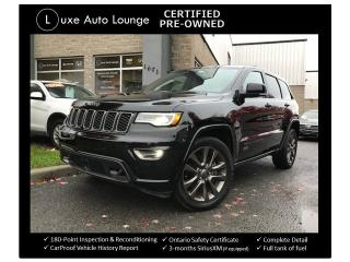 Used 2017 Jeep Grand Cherokee Limited 75th Anniversary for sale in Orleans, ON