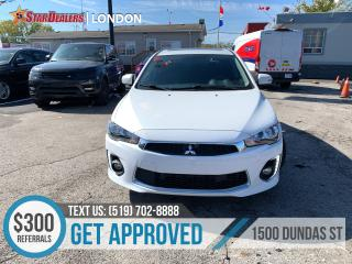 Used 2016 Mitsubishi Lancer Sportback for sale in London, ON