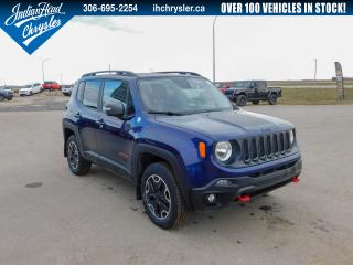 Used 2017 Jeep Renegade Trailhawk 4x4 | Leather | Nav for sale in Indian Head, SK