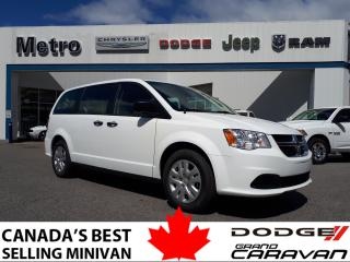 Used 2019 Dodge Grand Caravan CANADA VALUE PACKAGE for sale in Ottawa, ON