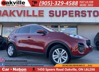 Used 2017 Kia Sportage LX | SUNROOF | HTD SEATS | B/U CAM | BLUETOOTH for sale in Oakville, ON