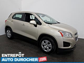 Used 2016 Chevrolet Trax LS Automatique - AIR CLIMATISÉ - Groupe Électrique for sale in Laval, QC