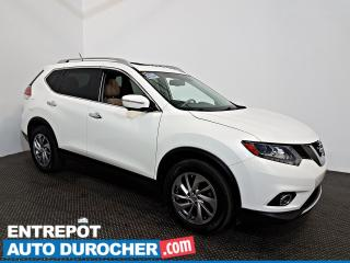 Used 2014 Nissan Rogue SL AWD NAVIGATION - toit Ouvrant - A/C - Cuir for sale in Laval, QC
